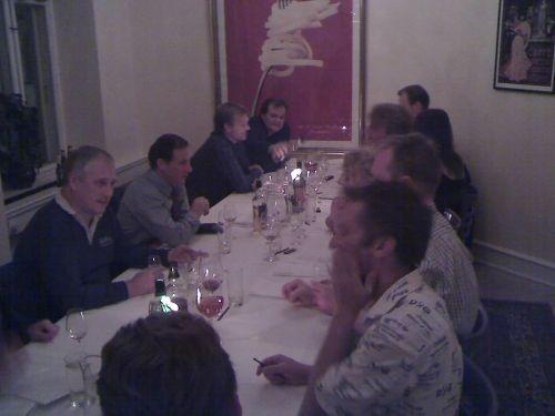 Le sommelier bord til Single Malt Gourmet smagning